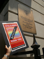 Gay Protest At NYC Russian Consulate - Joe My God