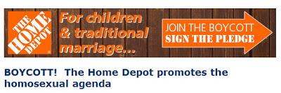 Have Home depot homosexual depot that interfere
