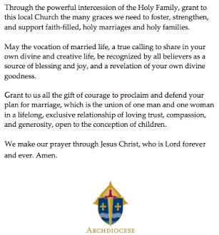 MINNESOTA: Catholic Bishop Issues Prayer Against The Civil