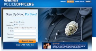 dating Archives   Joe My God  Gothamist tips us to Meet Single Police Officers  a new hook up dating site for cops and their admirers  I just checked and yes  the site includes gay
