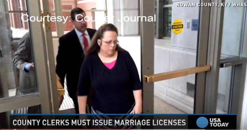 KENTUCKY: Office Of County Clerk Kim Davis Defies Court ...