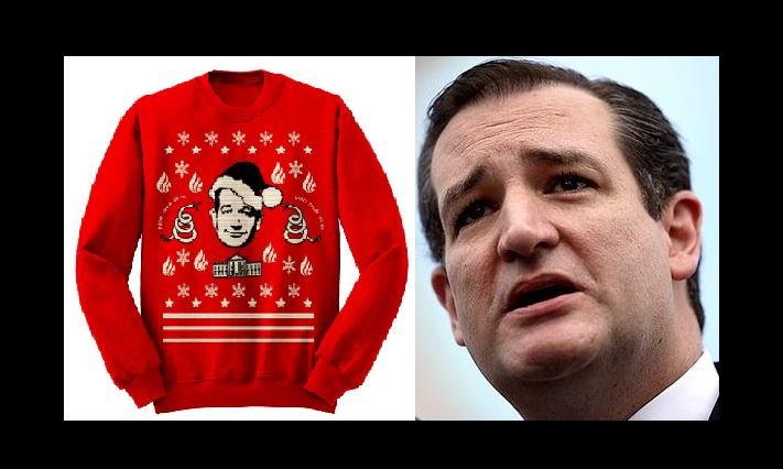 Ted Cruz Contest: Buy This $65 Fugly Christmas Sweater And Set An ...