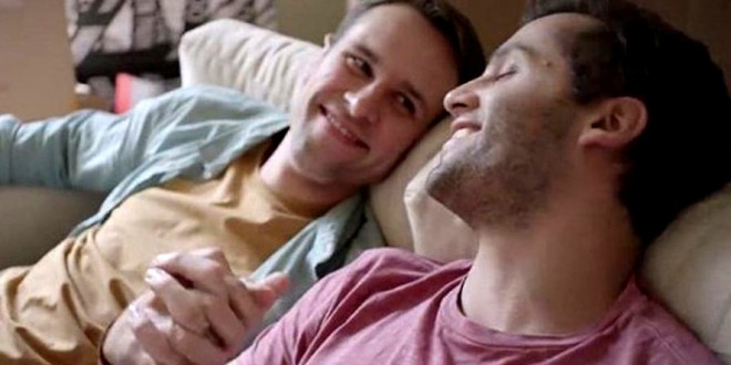 Gay tv commercial
