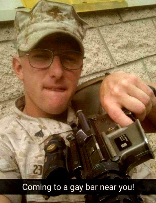 Gay m4m military
