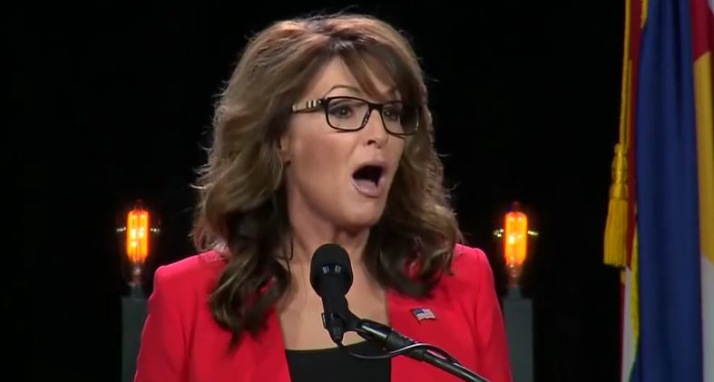 Sarah palin mouth boobs