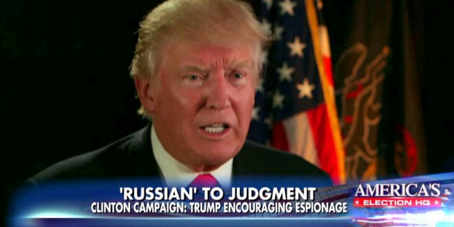article trump says being sarcastic about russia emails