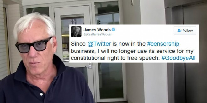 Alt-Right Hollywood Has-Been James Woods Quits Twitter ...