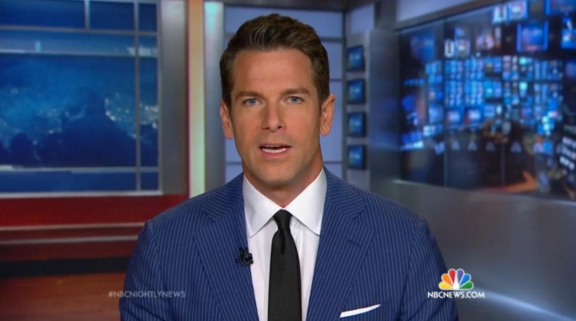 Gay news anchor