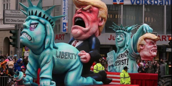 Image result for trump statue of liberty