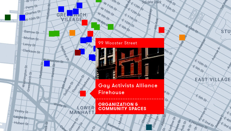 Gay New York Map.New York City Preservationists Launch Interactive Map Of Historic