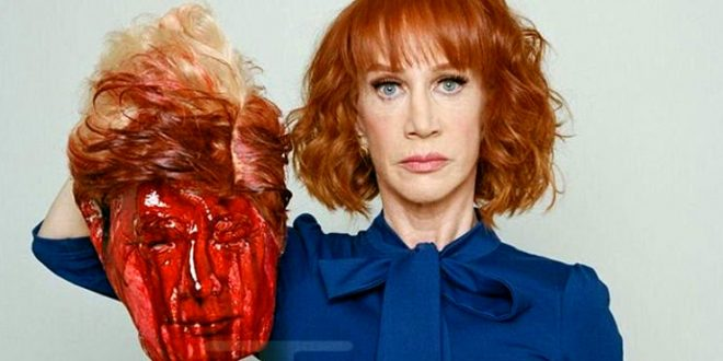 Violent Imagery; How Kathy Griffin's Assault on the President exposes the Right