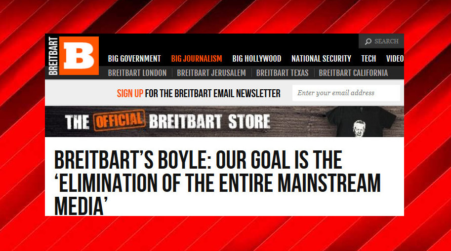 Breitbart 39 s manifesto our goal is the full destruction - Intire decrution ...