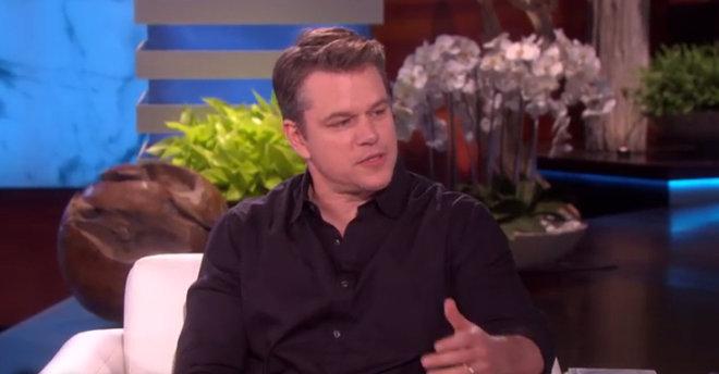 Matt Damon: Trump Made...