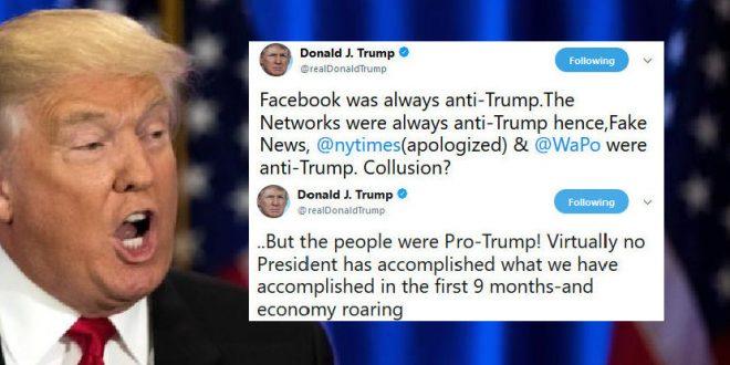 Trump: Facebook And All Media Conspire Against Me - Joe.My.God.