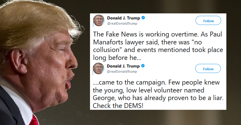 Trump Rages That Mueller's Indictments Are Fake News - Joe ...