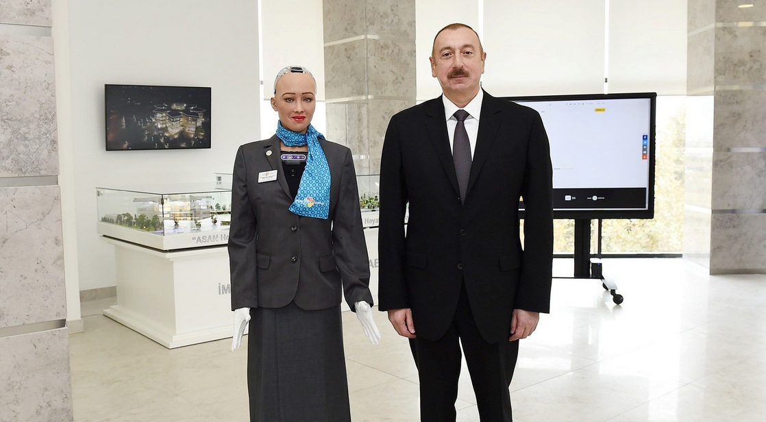 Azerbaijan Grants World's First Visa For Robot [VIDEO]