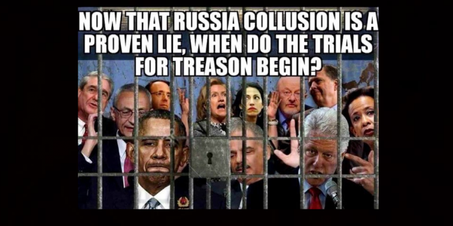 Trump Tweets Meme Calling For Treason Trials For Obama Hillary