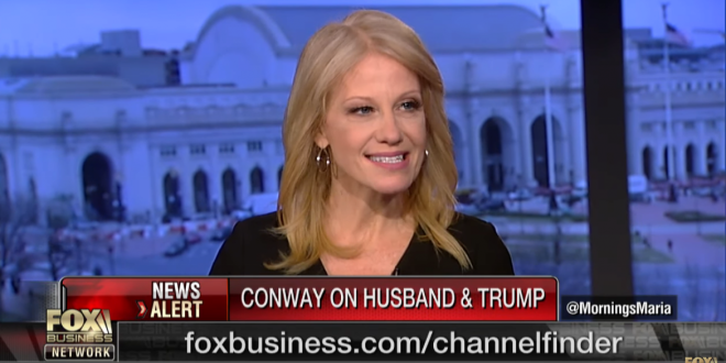 Kellyanne scolds husband and airing of public grievances