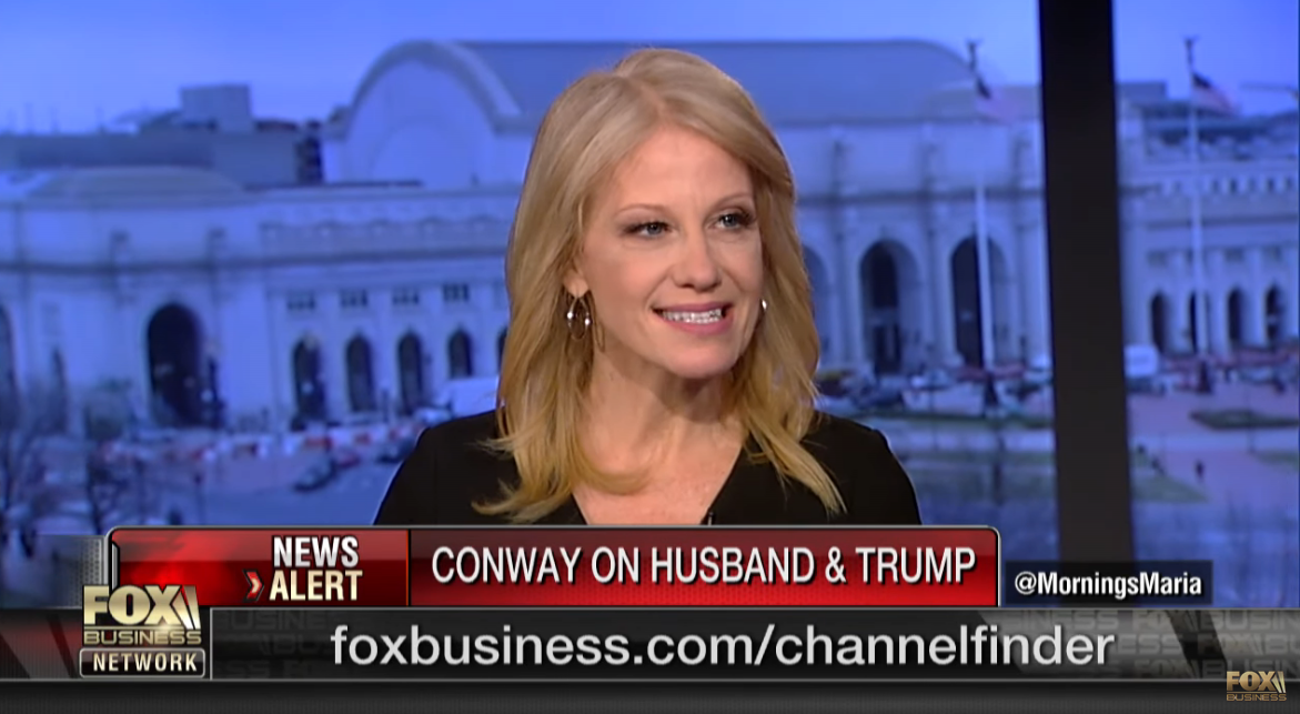 Kellyanne Conway Bashes Husband To Fox News: I Was Taught