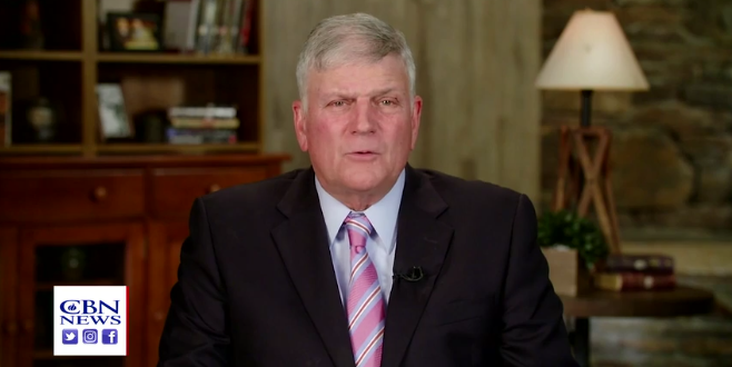 Franklin Graham To Hold Day Of Prayer Against Trump's Enemies: No