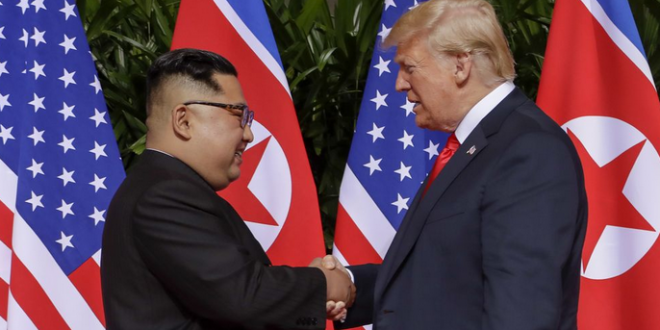 First Sitting President To Visit >> Trump Becomes First Sitting President To Visit Nk Joe My God