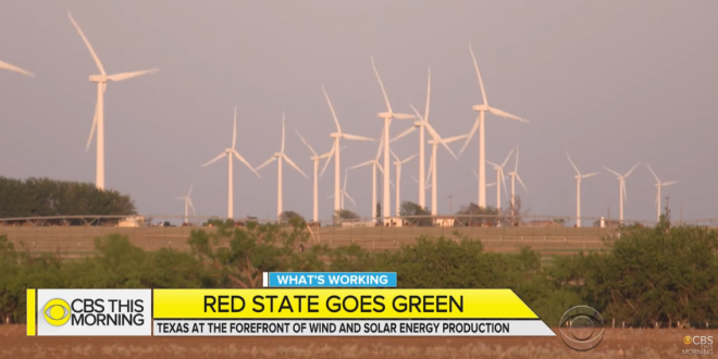 TEXAS: Wind Power Output Passes Coal For First Time - Joe My