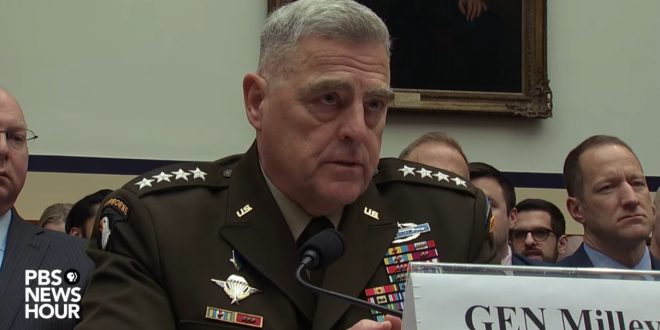 Joint Chiefs Of Staff Chair Says Military Will Have No ...