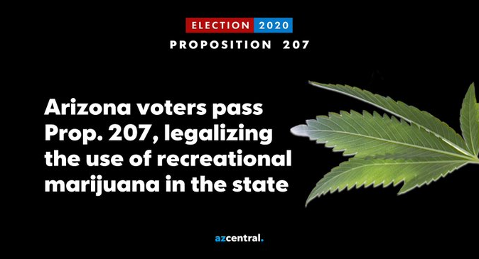 Arizona Voters Approve Legal Weed Initiative - Joe.My.God.